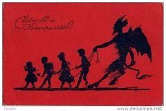 Krampus old Christmas postcard €24.99
