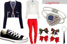 """Logainne """"Schwartzy"""" Schwartzandgrubenierre - 25th Annual Putnam County Spelling Bee     (totally want this whole outfit :D)"""