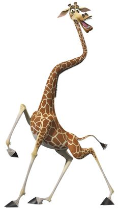 Melman the Giraffe is one of the two tritagonists of Madagascar, a major character of Madagascar: Escape 2 Africa and a supporting character of Madagascar Europe's Most Wanted. He is the Big Guy of the Five-Man Band. He is voiced by David Schwimmer. Madagascar Movie, Penguins Of Madagascar, Megamind Roxanne, Hump Day Humor, Giraffe Drawing, Sword Tattoo, Kids Room Murals, Disney Wallpaper, Whimsical Art