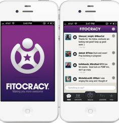 """Download the Fitocracy app and gamify your workouts.  Fitocracy is an online social community that provides """"leveling up"""" challenges to fire up your inner competitive streak."""