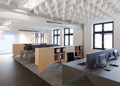 EL diseñador Alexander Fehre presento una Oficina Loft que correspondía a un solo piso de un antiguo edificio industrial en la ciudad de Schorndorf, a las afueras de Stuttgart.