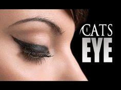 HOW TO: CAT EYELINER/FELINE FLICK TUTORIAL - MADE EASY - YouTube