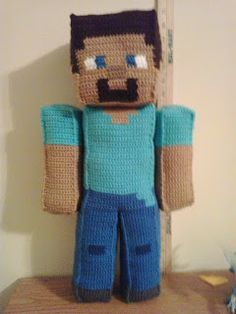 Crochet Fanatic: STEVE MINECRAFT
