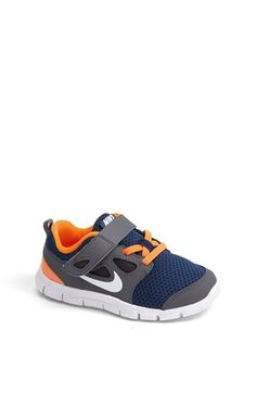 Amazing first walking shoes for your babes. Nike 'Free Run 5.0' Sneaker (Baby, Walker & Toddler) | Nordstrom
