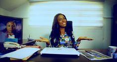 You know me I like to Show off Linda Ikeji takes us on a Tour of Her Office & Studios (Video)