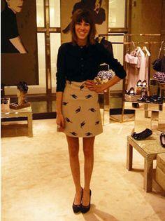 Alexa Chung; The Fashion Spot