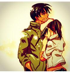 Heiji et Kazuha :) j'espère que Ooka ne changera rien...