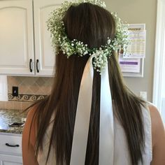 Make flower crowns at your next shower / party! Includes instructions and photos