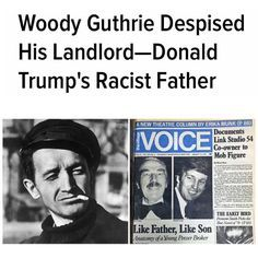 Donald Trumps father Fred was a pretty crummy guy. He was a low-income housing profiteer who used state & federal subsidies in developing his real estate empirethe one his son Donald benefits fromand abused his position.  Fred Trump became rich building low income housing & apartment buildings for returning WW2 veterans. Which means his wealth directly originated from government spending aka the GI Bill/Federal Housing Administration. Beach Haven was a big apartment complex which Fred Trump…