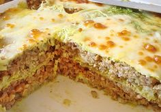 Rakott kelkáposzta Lasagna, Dinner Recipes, Ethnic Recipes, Food, Eten, Meals, Supper Recipes, Lasagne, Diet