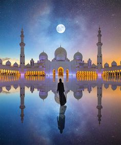 Architecture Discover & Dhabi& by Robert Jahns digital photo-manipulation 2018 x Mosque Architecture Mekka Beautiful Mosques Grand Mosque Dubai Travel Islamic Pictures United Arab Emirates Abu Dhabi Wonders Of The World Mecca Wallpaper, Islamic Wallpaper, Abu Dhabi, Mekka Islam, Mosque Architecture, Beautiful Mosques, Dubai Travel, Grand Mosque, Islamic Pictures