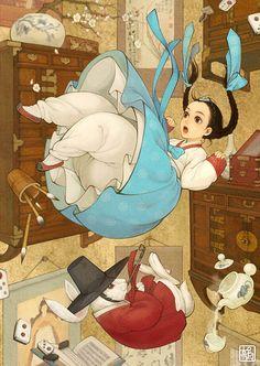 讓你懷疑迪士尼公主們「集體移民亞洲」的南韓創意插畫,烏蘇拉意外成為亮點?   台灣達人秀   最強自媒體聯播網