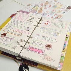More pages on my planner!   Flickr: Intercambio de fotos