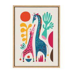 Safari Theme Nursery, Themed Nursery, Nursery Prints, Jungle Nursery, Canvas Frame, Canvas Wall Art, Nursery Canvas Art, Nursery Artwork, Nursery Paintings