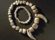 Stone age jewellery