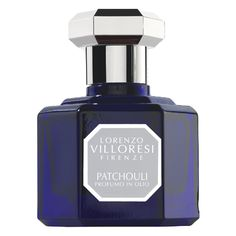Lorenzo Villoresi Classic Fragrance: Patchouli mixed with Vetiver