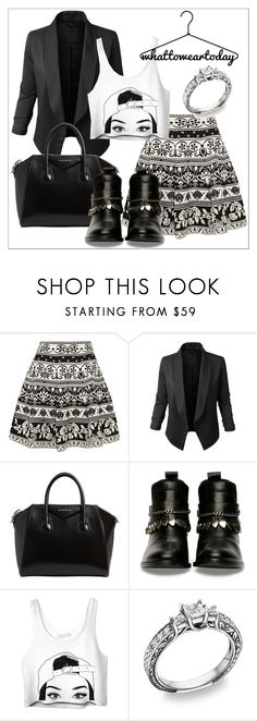 """""""Untitled #522"""" by chanlee-luv ❤ liked on Polyvore featuring Alexander McQueen, Jupe de Abby and Givenchy"""