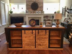 Grandy Console/Couch Table | Do It Yourself Home Projects from Ana White