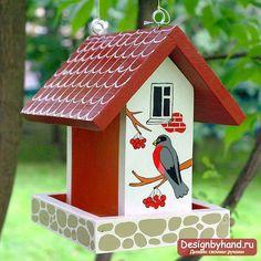 Как можно сделать кормушку для птиц своими руками