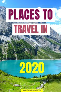 2020 travel destinations to visit after the travel restrictions have been lifted due to coronavirus pandemic. Travel to Italy, travel to Switzerland, travel to France plus other tops places to travel in 2020 including what to do in Italy, where to go in Italy, things to do in france, things to do in switzerland, Zurich travel, and travelling Paris. #2020traveldestinations #travelbucketlist #travelgoals #coronavirus #travelrestrictions #traveltoitaly #traveltofrance #traveltoswitzerland Safest Places To Travel, Beautiful Places To Travel, France Travel, Italy Travel, Inexpensive Family Vacations, Travel Trailer Living, Top Travel Destinations, Travel Tips, Countries To Visit