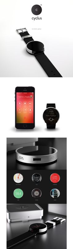 Cyclus smart watch UI http://www.cssdesignawards.com/articles/23-smartwatch-ui-designs-concepts/114/