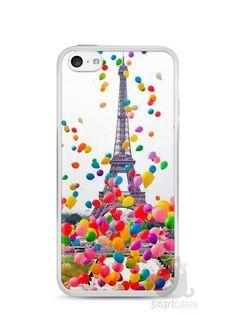 Capa Iphone 5C Torre Eiffel e Balões - SmartCases - Acessórios para  celulares e tablets   65e7dee1c43ef