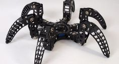 Hexapod robots were designed many years ago for amusement rides and later mostly know as flight simulators for pilot training. You can find Hexapod Robots and other robot products @ Alio Industries. Robotics Engineering, Computer Engineering, Arduino, Drones, Spider Legs, Spider Bites, Pilot Training, Robot Concept Art, Old Computers