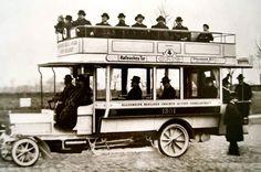 Omnibus Berlin, um 1911.