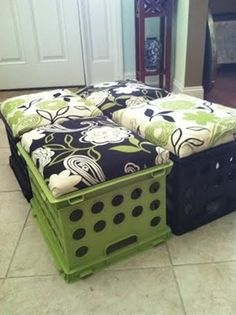 perfect for dorm rooms or play rooms? - Popular DIY & Crafts Pins on Pinterest