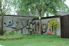 Gartenkunst gesehen in Zingst