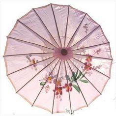 WMS Chinese Umbrella Silk Fabric Classical Style Paper Umbrella Cosplay Photo
