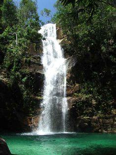 Brasil: as 15 cachoeiras mais bonitas do país - Santa Bárbara (Cavalcante, Goiás)