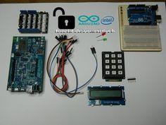 Intel Edison: Pinlock (keypad)