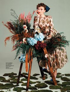 """Rustic Femininity"" by Filippo del Vita for The South China Morning Post Style"