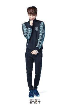 iKON Yunhyeong for SMART SCHOOL UNIFORMS