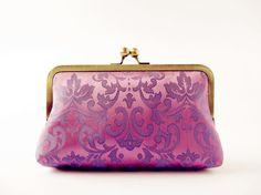 Royal Purple Silk Clutch Bag #purple #silk #clutch #bag www.loveitsomuch.com