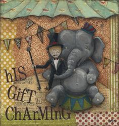 "Artful Mélange: Portfolio - ""His Gift is Charming"""