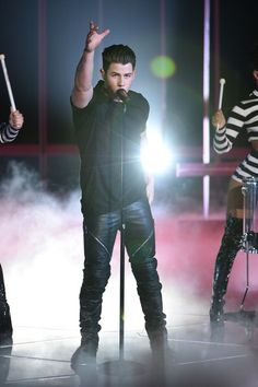 March 29: [More] Nick Performing Chains during the iHeart Radio Music Awards presented by NBC at the Shrine Auditorium in Los Angeles, CA. http://dannyboi2.tumblr.com/links