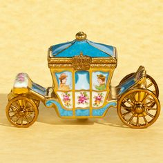 Limoges Box- French Style Louis XV Royal Carriage