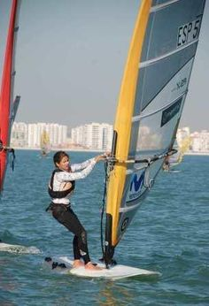 CHIPRE: Blanca Alabau (ESP) - Campeonato del Mundo Juvenil ISAF 2013.