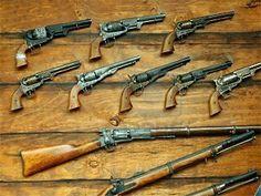 Old West Guns