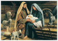 LDS Art - Christmas & Nativity — Altus Fine Art Christmas Nativity, Christmas Music, Merry Christmas, White Christmas, What Is Christmas, Beautiful Christmas, Greg Olsen Art, Simon Dewey, Pictures Of Jesus Christ