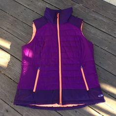 Women's Purple Champion Vest Women's Purple Champion Vest size XXL in very good condition. NO TRADES! Champion Jackets & Coats Vests