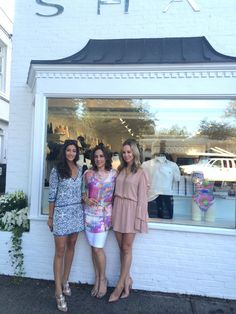 SHAN East Hampton's owner, Lidia, is happily surrounded by Saucy Glossie and Brooklyn Blonde Brooklyn Blonde, Die Hamptons, East Hampton, Going Out, Glamour, Lingerie, Boutique, Swimwear, Collection