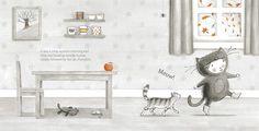 The Little Kitten by Nicola Killen Autumn Day, Autumn Leaves, Fallen Leaves, Autumn Morning, Tiny Kitten, Little Kittens, Hanging Posters, Cat Pumpkin, Book Reviews For Kids