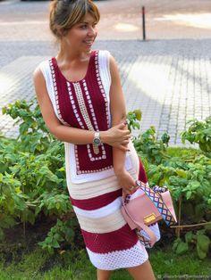Fabulous Crochet a Little Black Crochet Dress Ideas. Georgeous Crochet a Little Black Crochet Dress Ideas. Crochet Shirt, Cotton Crochet, Crochet Lace, Modern Crochet, Vintage Crochet, Black Crochet Dress, Knit Dress, Crochet Clothes, Diy Clothes