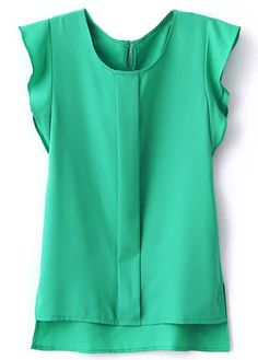 Short Sleeve Chiffon T Shirt