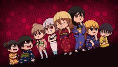 Tags: Fanart, Gin Tama, Pixiv, Sakata Gintoki, Hijikata Toushirou, Okita Sougo, Katsura Kotaro, Shimura Shinpachi, Isao Kondo, Yamazaki Saga...