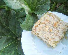 Enjoy the tang with Rhubarb Sourdough Coffeecake