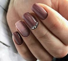Trendy Manicure Ideas In Fall Nail Colors;Purple Nails; Fall Nai… Trendy Manicure Ideas In Fall Nail Colors;Purple Nails; Fall Nai…,Nailart Trendy Manicure Ideas In Fall Nail Colors;Purple Nails; Fall Manicure, Spring Nails, Manicure Ideas, Manicure Colors, Summer Nails, Nails For Autumn, Fall Nail Ideas Gel, Nail Designs For Fall, Fall Gel Nails